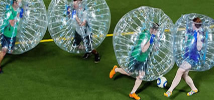 Blackpool Weekends - Bubble Football
