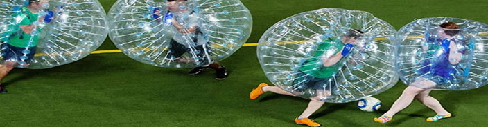 Blackpool Bubble Football